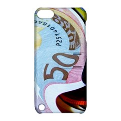 Abstract Currency Background Apple Ipod Touch 5 Hardshell Case With Stand