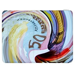 Abstract Currency Background Samsung Galaxy Tab 7  P1000 Flip Case