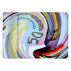 Abstract Currency Background Samsung Galaxy Tab 10 1  P7500 Flip Case