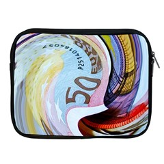 Abstract Currency Background Apple Ipad 2/3/4 Zipper Cases