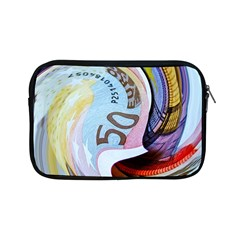 Abstract Currency Background Apple Ipad Mini Zipper Cases