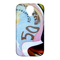 Abstract Currency Background Samsung Galaxy S4 Classic Hardshell Case (pc+silicone)