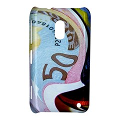 Abstract Currency Background Nokia Lumia 620