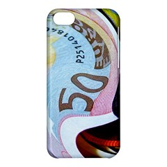 Abstract Currency Background Apple Iphone 5c Hardshell Case