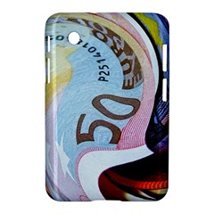 Abstract Currency Background Samsung Galaxy Tab 2 (7 ) P3100 Hardshell Case
