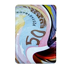 Abstract Currency Background Samsung Galaxy Tab 2 (10 1 ) P5100 Hardshell Case