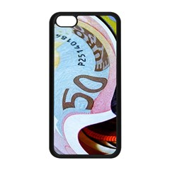 Abstract Currency Background Apple Iphone 5c Seamless Case (black)