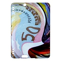 Abstract Currency Background Kindle Fire Hdx Hardshell Case