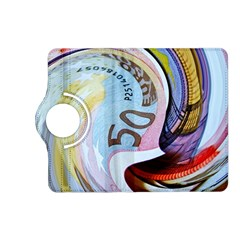 Abstract Currency Background Kindle Fire Hd (2013) Flip 360 Case