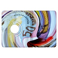Abstract Currency Background Kindle Fire Hdx Flip 360 Case