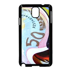 Abstract Currency Background Samsung Galaxy Note 3 Neo Hardshell Case (black)