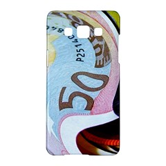 Abstract Currency Background Samsung Galaxy A5 Hardshell Case