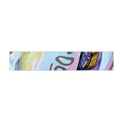 Abstract Currency Background Flano Scarf (mini)