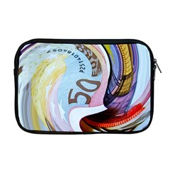Abstract Currency Background Apple Macbook Pro 17  Zipper Case