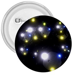 Abstract Dark Spheres Psy Trance 3  Buttons
