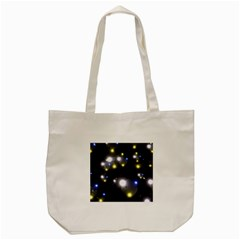 Abstract Dark Spheres Psy Trance Tote Bag (cream)