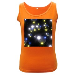 Abstract Dark Spheres Psy Trance Women s Dark Tank Top
