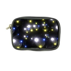 Abstract Dark Spheres Psy Trance Coin Purse