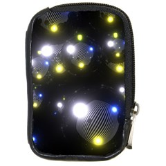 Abstract Dark Spheres Psy Trance Compact Camera Cases