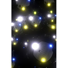 Abstract Dark Spheres Psy Trance 5 5  X 8 5  Notebooks