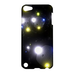 Abstract Dark Spheres Psy Trance Apple Ipod Touch 5 Hardshell Case