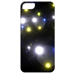 Abstract Dark Spheres Psy Trance Apple Iphone 5 Classic Hardshell Case