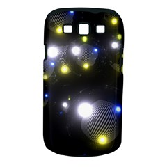 Abstract Dark Spheres Psy Trance Samsung Galaxy S Iii Classic Hardshell Case (pc+silicone)