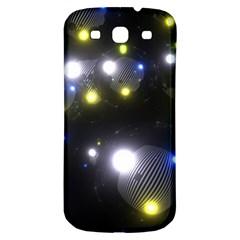 Abstract Dark Spheres Psy Trance Samsung Galaxy S3 S Iii Classic Hardshell Back Case