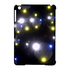 Abstract Dark Spheres Psy Trance Apple Ipad Mini Hardshell Case (compatible With Smart Cover)