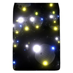 Abstract Dark Spheres Psy Trance Flap Covers (s)