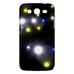 Abstract Dark Spheres Psy Trance Samsung Galaxy Mega 5 8 I9152 Hardshell Case
