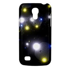 Abstract Dark Spheres Psy Trance Galaxy S4 Mini