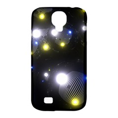 Abstract Dark Spheres Psy Trance Samsung Galaxy S4 Classic Hardshell Case (pc+silicone)