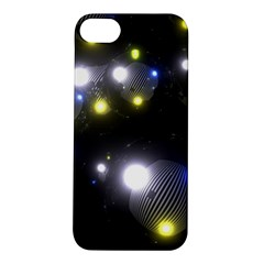 Abstract Dark Spheres Psy Trance Apple Iphone 5s/ Se Hardshell Case