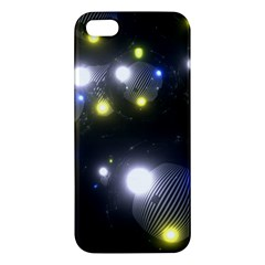 Abstract Dark Spheres Psy Trance Iphone 5s/ Se Premium Hardshell Case