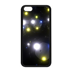 Abstract Dark Spheres Psy Trance Apple Iphone 5c Seamless Case (black)
