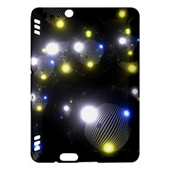 Abstract Dark Spheres Psy Trance Kindle Fire Hdx Hardshell Case
