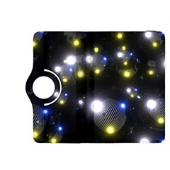 Abstract Dark Spheres Psy Trance Kindle Fire Hdx 8 9  Flip 360 Case