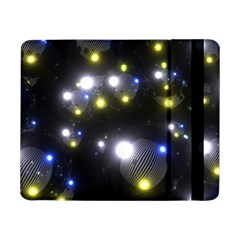 Abstract Dark Spheres Psy Trance Samsung Galaxy Tab Pro 8 4  Flip Case