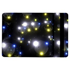 Abstract Dark Spheres Psy Trance Ipad Air Flip