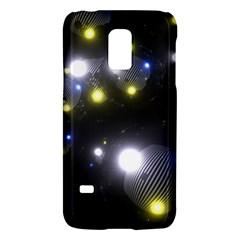 Abstract Dark Spheres Psy Trance Galaxy S5 Mini