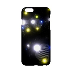 Abstract Dark Spheres Psy Trance Apple Iphone 6/6s Hardshell Case