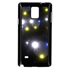 Abstract Dark Spheres Psy Trance Samsung Galaxy Note 4 Case (black)