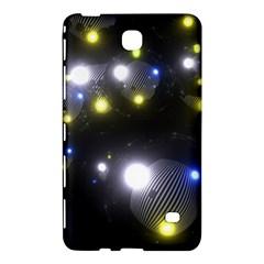 Abstract Dark Spheres Psy Trance Samsung Galaxy Tab 4 (7 ) Hardshell Case