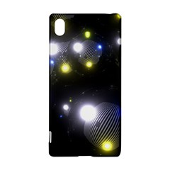 Abstract Dark Spheres Psy Trance Sony Xperia Z3+