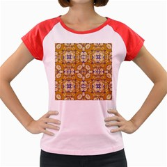 Abstract Elegant Background Card Women s Cap Sleeve T-Shirt