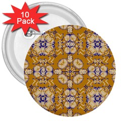Abstract Elegant Background Card 3  Buttons (10 Pack)