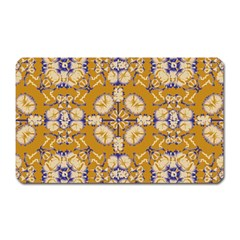 Abstract Elegant Background Card Magnet (rectangular)