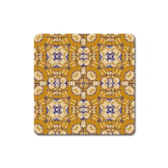 Abstract Elegant Background Card Square Magnet
