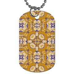 Abstract Elegant Background Card Dog Tag (one Side)